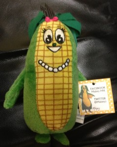 Do you want one of these soft and squeezable Minnesota Maizey dolls? Come by the Minnesota Corn Growers Association tent at Sever's Corn Maze on Oct. 5 and pick one up!