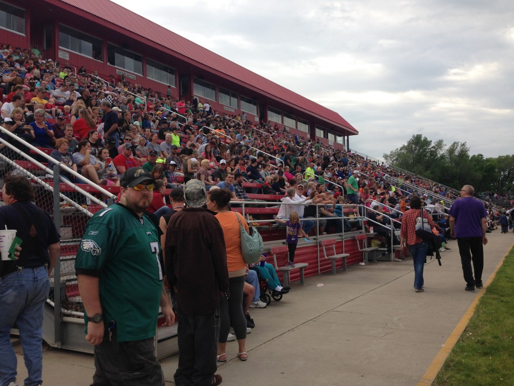 Almost 9,000 fans packed the stands for Tasseldega Nights at Elko Speedway on June 6.