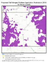 Mower_Proposed Fall Nitrogen Fertilizer Application Restrictions 2018